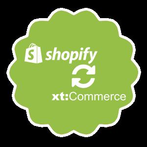 Shopify - xt:Commerce Schnittstelle für Bestellungen