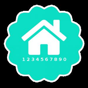 Hausnummerfeld für Registrierung